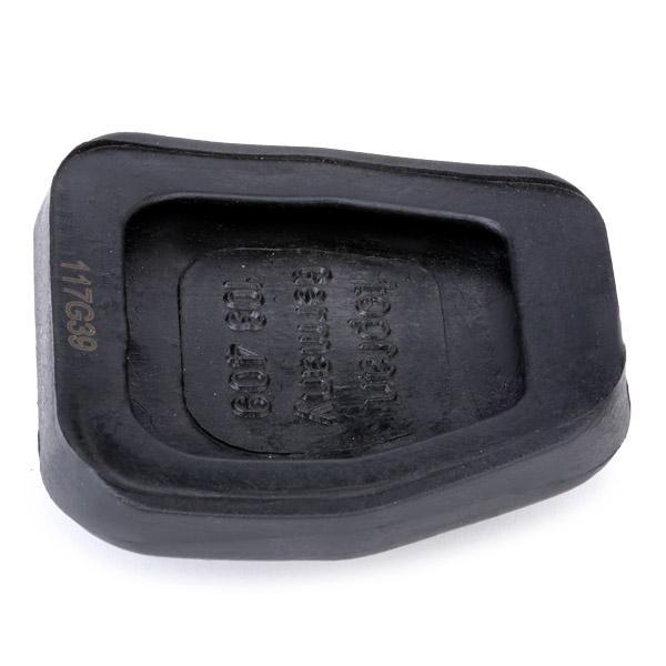 Revestimiento de pedal, pedal de freno 103 409 TOPRAN 103 409 en calidad original