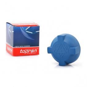 TOPRAN Verschlußdeckel, Kühlmittelbehälter 103 643 für AUDI 80 (8C, B4) 2.8 quattro ab Baujahr 09.1991, 174 PS