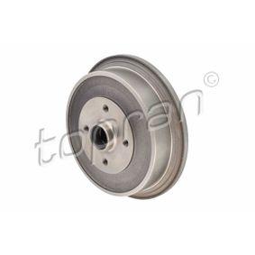Bremstrommel Felge: 4-loch mit OEM-Nummer 443501615