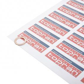 TOPRAN Seal, oil drain plug 104 474 with OEM Number 1005306