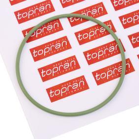 TOPRAN Dichtung, Zwischenwelle 104 532 für AUDI 80 (81, 85, B2) 1.8 GTE quattro (85Q) ab Baujahr 03.1985, 110 PS