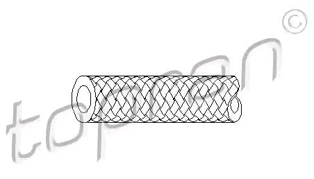 Tubo flexible de combustible TOPRAN 104 538 evaluación