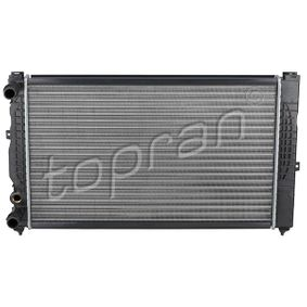 Wasserkühler VW PASSAT Variant (3B6) 1.9 TDI 130 PS ab 11.2000 TOPRAN Kühler, Motorkühlung (107 151) für