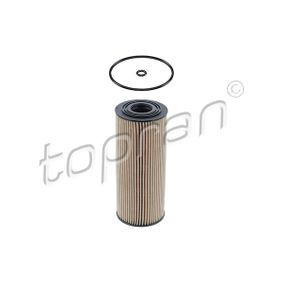 TOPRAN Ölfilter 108 007 für AUDI A4 (8E2, B6) 1.9 TDI ab Baujahr 11.2000, 130 PS