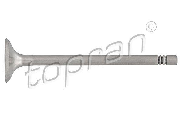 TOPRAN  108 021 Auslassventil Länge: 100,6mm, Ventilteller-Ø: 26,0mm, Ventilschaft-Ø: 6mm