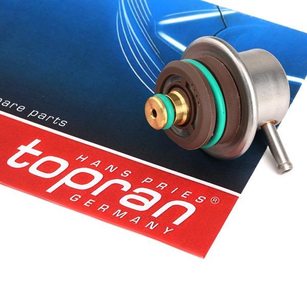 Kraftstoffdruckregler TOPRAN 108125 Erfahrung