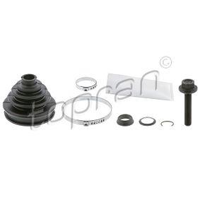 Bellow Set, drive shaft Height: 83mm, Inner Diameter 2: 22mm, Inner Diameter 2: 80mm with OEM Number 8D0498203