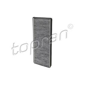 TOPRAN Filter, Innenraumluft 108 409 für AUDI 80 (8C, B4) 2.8 quattro ab Baujahr 09.1991, 174 PS