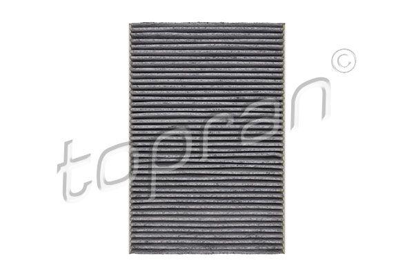 TOPRAN  108 617 Filtro, aire habitáculo Long.: 300mm, Ancho: 205mm, Altura: 30mm