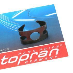 TOPRAN Halter, Bremsschlauch 108 718 für AUDI 80 (8C, B4) 2.8 quattro ab Baujahr 09.1991, 174 PS