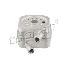 TOPRAN Ölkühler, Motoröl 108 907 für AUDI A3 (8P1) 1.9 TDI ab Baujahr 05.2003, 105 PS