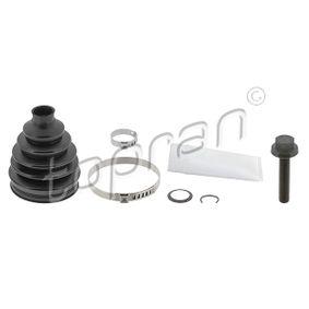 Bellow Set, drive shaft Height: 111mm, Inner Diameter 2: 25mm, Inner Diameter 2: 85mm with OEM Number 8D0 498 203 A