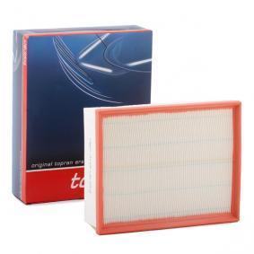 TOPRAN Luftfilter 109 043 für AUDI A4 (8E2, B6) 1.9 TDI ab Baujahr 11.2000, 130 PS