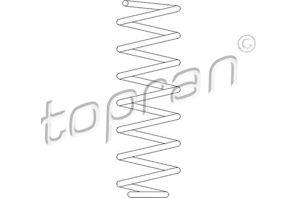 TOPRAN  109 535 Coil Spring