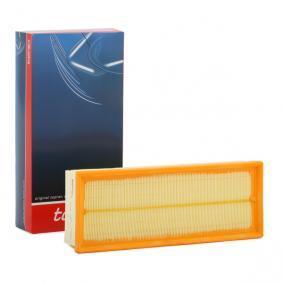 Luftfilter Länge: 345mm, Breite: 135mm, Höhe: 70mm mit OEM-Nummer 1K0129620 D