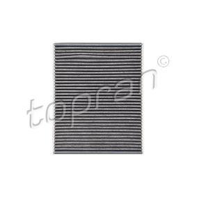 TOPRAN Filter, Innenraumluft 110 274 für AUDI Q7 (4L) 3.0 TDI ab Baujahr 11.2007, 240 PS