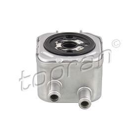 TOPRAN Ölkühler, Motoröl 110 495 für AUDI A6 (4B2, C5) 2.4 ab Baujahr 07.1998, 136 PS