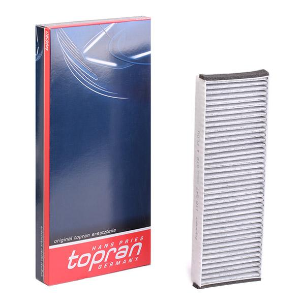 Filtro de aire acondicionado TOPRAN 110547 conocimiento experto