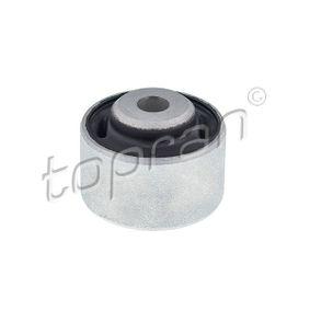 TOPRAN Lagerung, Lenker 110 715 für AUDI A4 (8E2, B6) 1.9 TDI ab Baujahr 11.2000, 130 PS