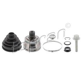 Antriebswellengelenk VW PASSAT Variant (3B6) 1.9 TDI 130 PS ab 11.2000 TOPRAN Gelenksatz, Antriebswelle (110 809) für