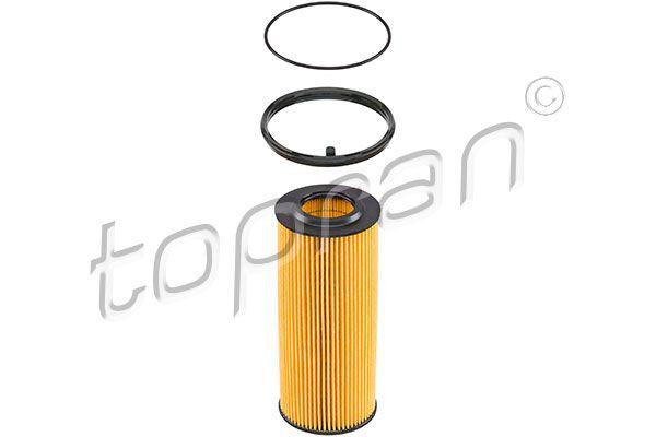 TOPRAN  110 924 Ölfilter Ø: 64mm, Höhe: 155mm