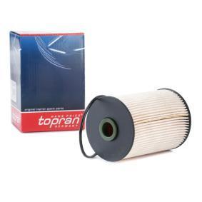 TOPRAN Kraftstofffilter 111 169 für AUDI A3 (8P1) 1.9 TDI ab Baujahr 05.2003, 105 PS