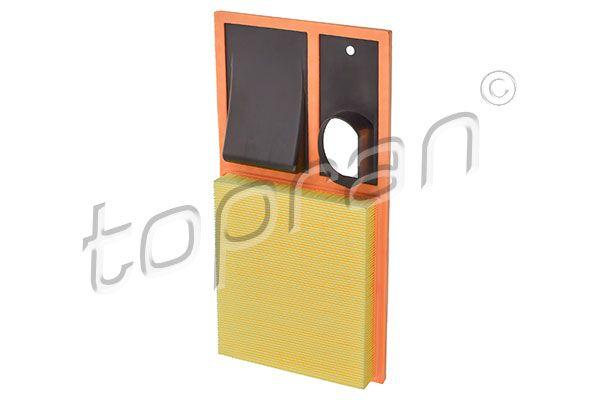 TOPRAN  111 291 Luftfilter Länge: 375mm, Breite: 193mm, Höhe: 40mm, Länge: 375mm