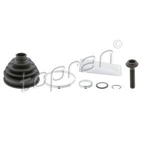 Faltenbalgsatz, Antriebswelle Innendurchmesser 2: 90mm, Innendurchmesser 2: 24mm mit OEM-Nummer 8D0498203C