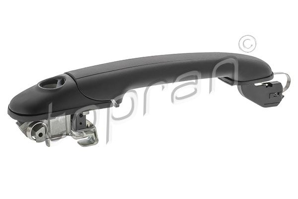 Neuf D/'origine VW Caddy Poignée Barre Satin Noir 2k5827574s 9b9 Poignée de porte Poignée
