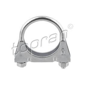 Röranslutning, avgassystem med OEM Koder 16.08.279