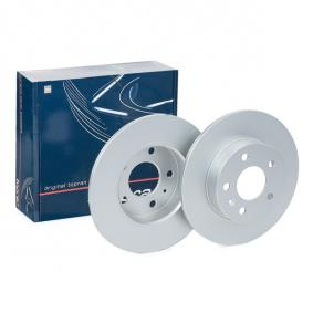 Bremsscheibe Bremsscheibendicke: 10mm, Ø: 264mm mit OEM-Nummer 569109
