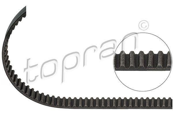 TOPRAN  205 843 Zahnriemen Länge: 1296mm, Breite: 20mm
