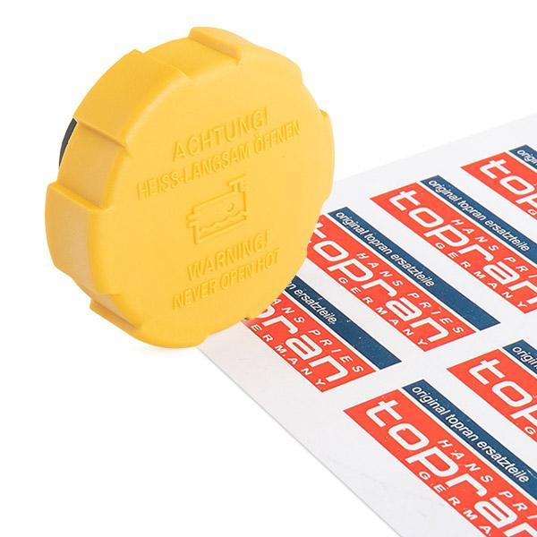 TOPRAN  206 670 Tapón, depósito de refrigerante