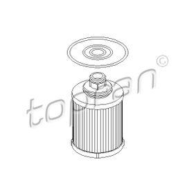 Filtro olio (207 432) per per Filtro Olio FIAT GRANDE PUNTO (199) 1.3 D Multijet dal Anno 10.2005 75 CV di TOPRAN