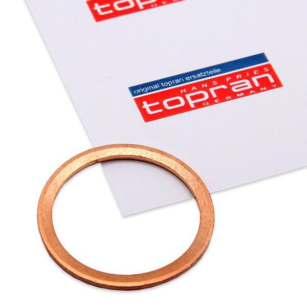Guarnizione Tappo Coppa Olio 207 582 TOPRAN 207 582 di qualità originale