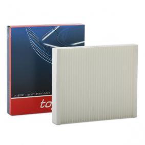 Filter, Innenraumluft Länge: 240mm, Breite: 206mm, Höhe: 35mm mit OEM-Nummer 13271190
