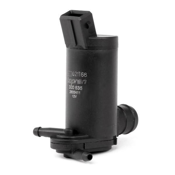 Windscreen Washer Pump TOPRAN 300 635 1131780000016