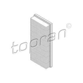 Luftfilter Länge: 345mm, Breite: 145mm, Höhe: 50mm mit OEM-Nummer 1216907