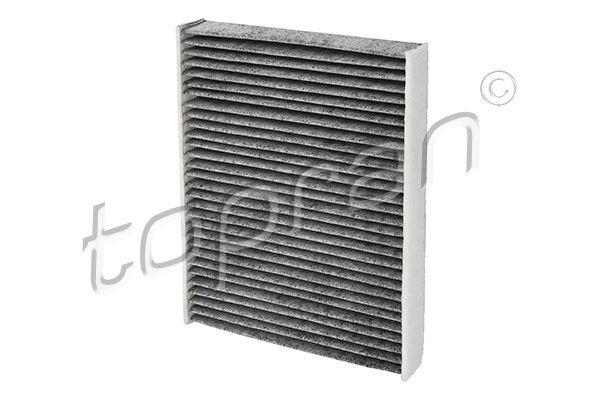 TOPRAN  302 123 Filter, Innenraumluft Länge: 240mm, Breite: 189mm, Höhe: 35mm