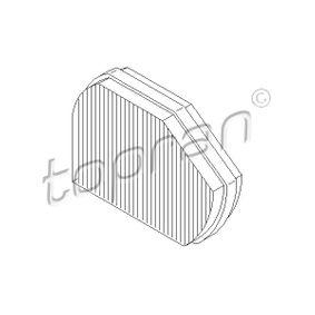 Filter, Innenraumluft Höhe: 54mm mit OEM-Nummer 210 830 0818