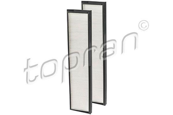 TOPRAN  400 207 Filter, Innenraumluft Länge: 372mm, Breite: 87mm, Höhe: 23mm