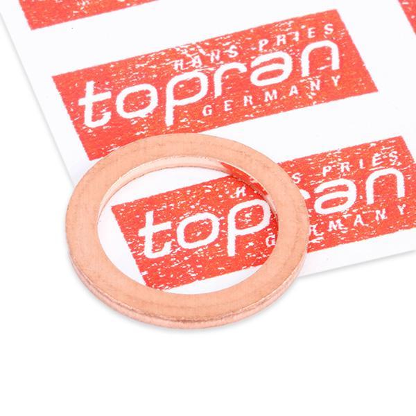 Ölablaßschraube Dichtung 400 307 TOPRAN 400 307 in Original Qualität
