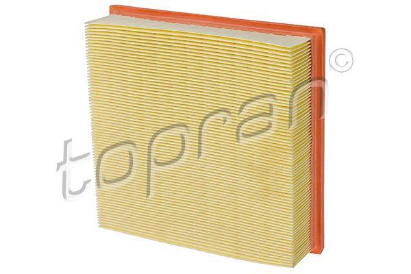 TOPRAN  400 323 Luftfilter Länge: 220mm, Breite: 228mm, Höhe: 60mm