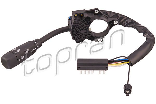 TOPRAN  400 521 Steering Column Switch with headlight flasher, with indicator function, with light dimmer function, with wash function, with wipe interval function