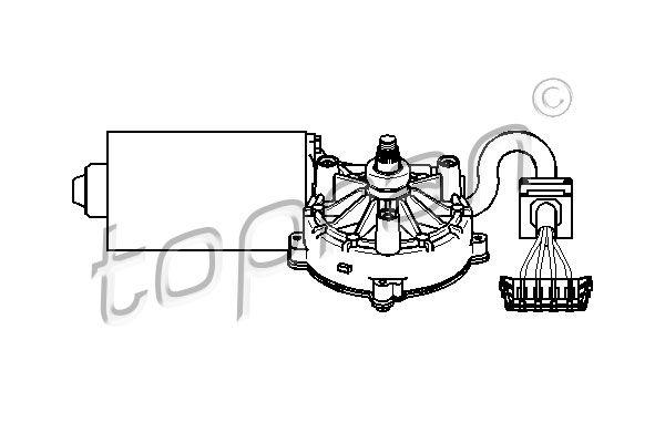 TOPRAN  401 531 Wiper Motor