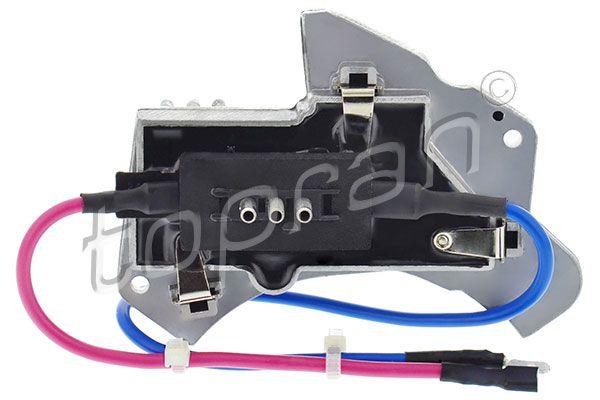 TOPRAN  401 680 Gebläseschalter, Heizung / Lüftung