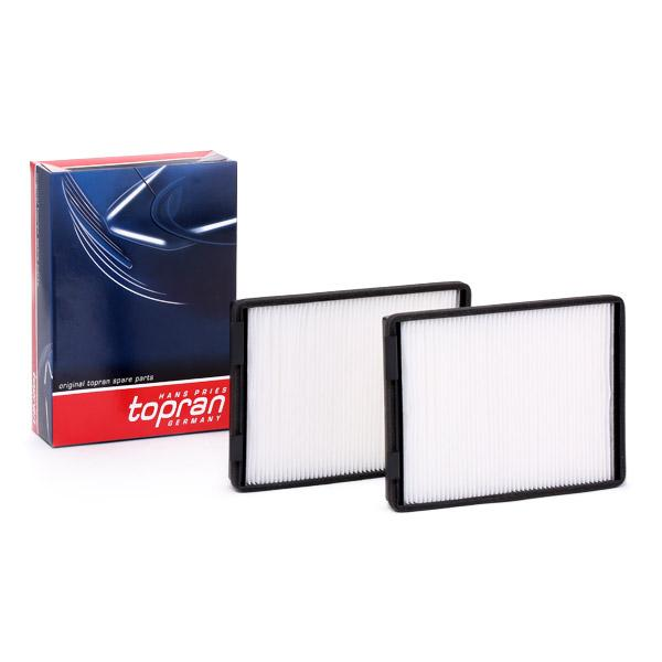 Filtro de Habitáculo TOPRAN 500 222 evaluación