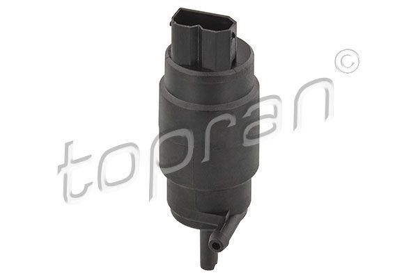TOPRAN  500 555 Waschwasserpumpe, Scheibenreinigung Pol-Anzahl: 2-polig