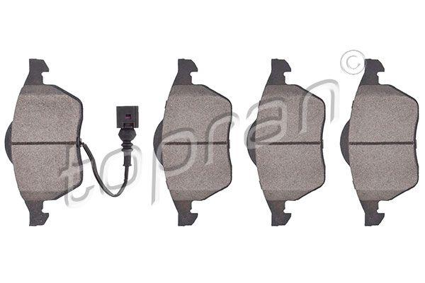 TOPRAN  500 575 Bremsscheibe Bremsscheibendicke: 20mm, Felge: 5-loch, Ø: 298mm