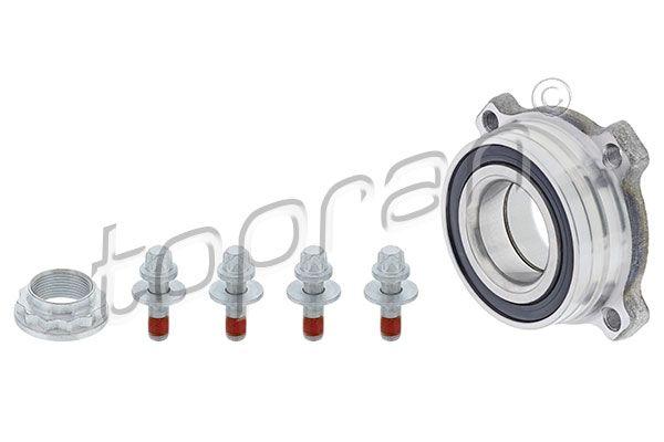 TOPRAN  500 635 Radlagersatz Innendurchmesser: 45mm